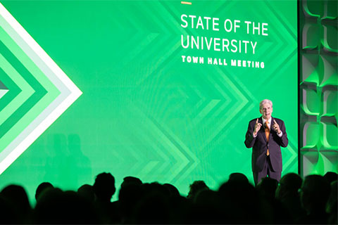 2019 State of the University Town Hall Meeting